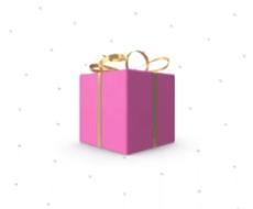коробка с подарком в тик ток