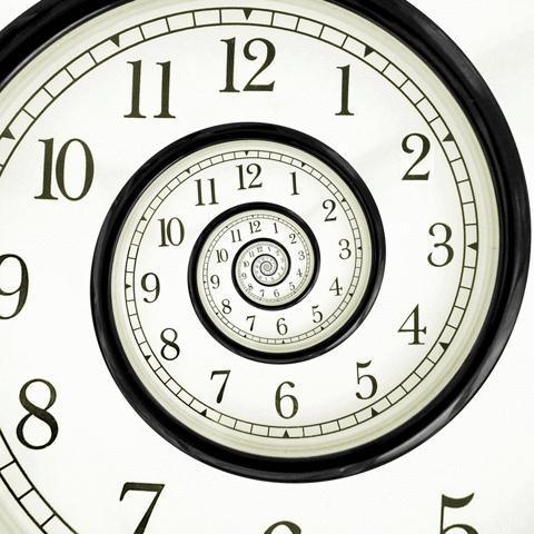 Гифка часов
