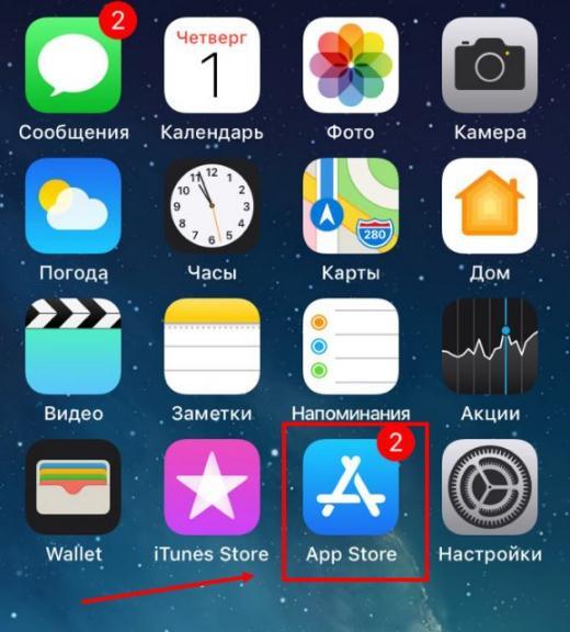 как скачать тик ток на iphone шаг 1