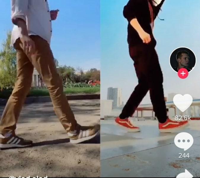 танцы из тик тока ногами