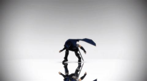 Гифка танцующий человечек с главным героем ролика