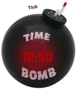Гифка бомба с временем взрыва