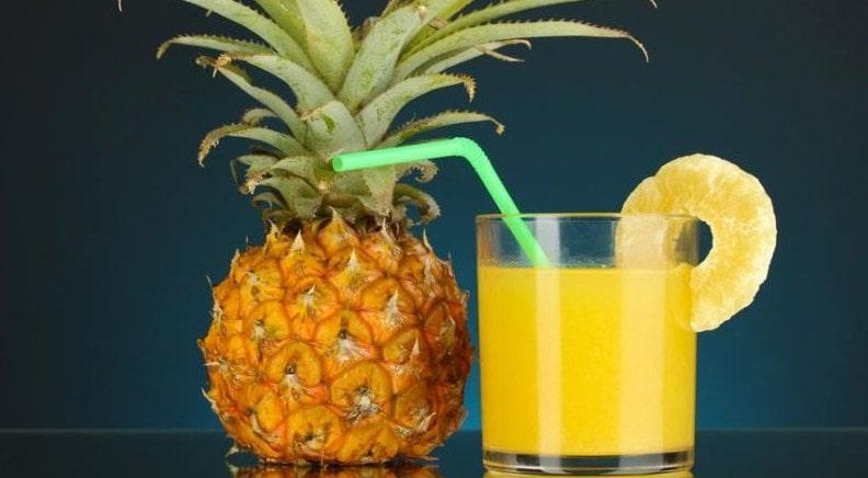 ананасовый сок тик ток в чем прикол